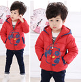 2016 winter children's clothing for men and women baby children padded cotton cartoon panda thick warm coat  age for 2-7T