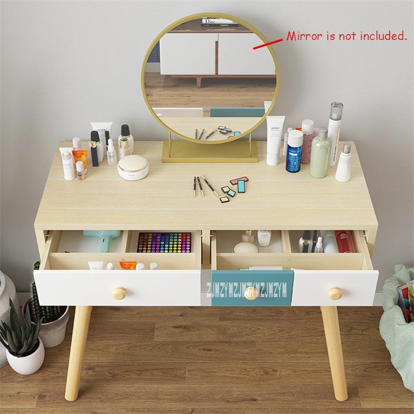 B2507 мебель для спальни современный комод ручной работы доска твердой древесины ноги туалетный столик креативный туалетный столик с ящиком - 4