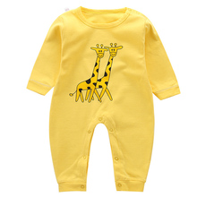 Baby Rompers Newborn Jumpsuits Baby Boy Girl Clothing 100% Cotton Long Sleeve Infant One Piece Toddler New Born Clothes 2018 new little q coral velvet long sleeve winter baby clothes one piece kid bodysuit newborn boys girl clothing infant apparel