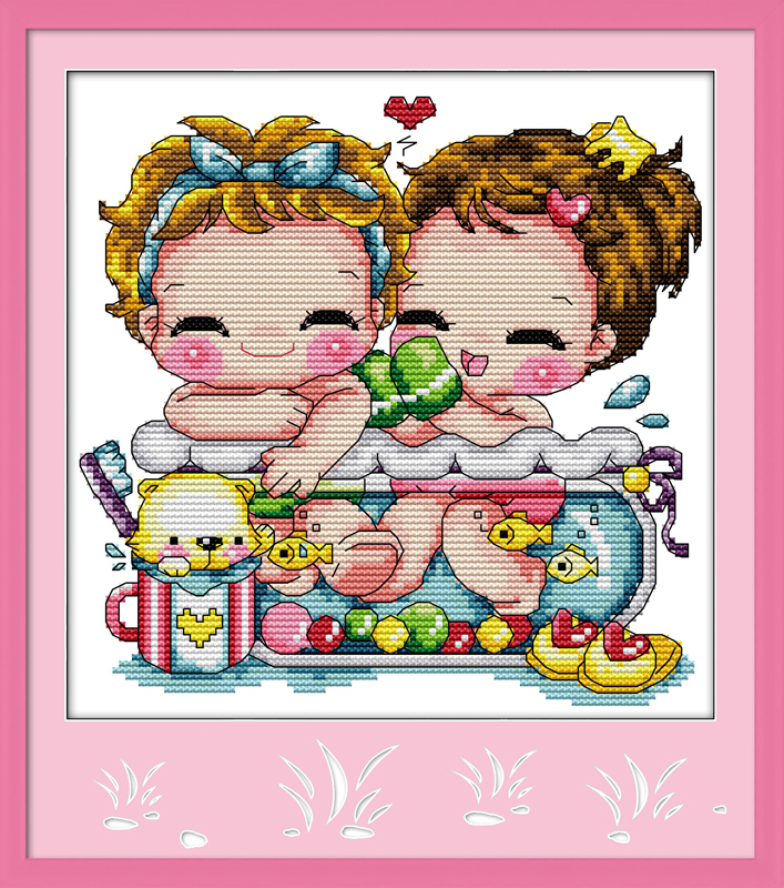 Joy Sunday Bath In A Fishbowl Hand Embroidery Designs for ...
