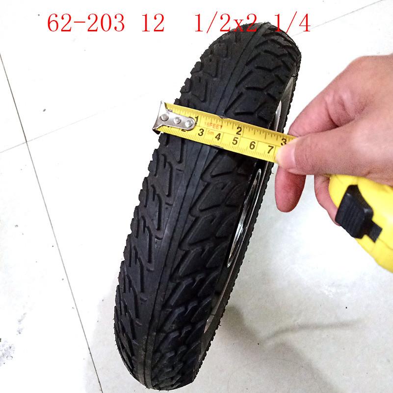 Bike Bicycle Scooter eBike Tire 12/'/' 62-203 12 1//2 X 2 1//4 280 Kpa