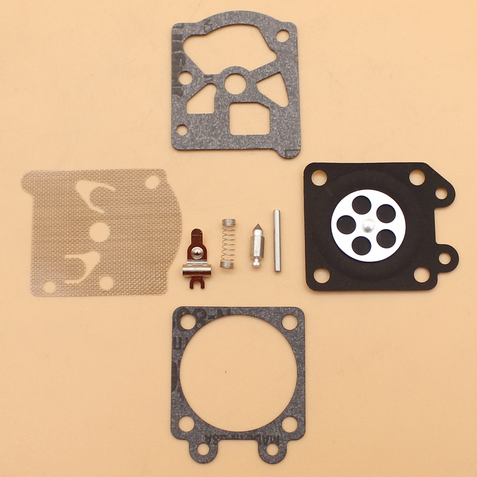 2Pcs/lot Carburetor Rebuild Repair Kit For STIHL MS170 MS180 MS210 MS230 MS250 017 018 021 023 025 Chainsaw With Walbro Carb