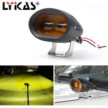 3000K 6000K 20W 6D LED Work Light Bar Car Driving Fog Offroad Flood Lamp Vehicle Truck SUV Led 10V-30V