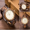 Uwood Luxury Natural Wood Wristwatch For Men Fashion Quartz Watches With Wooden Watch Men S Unique