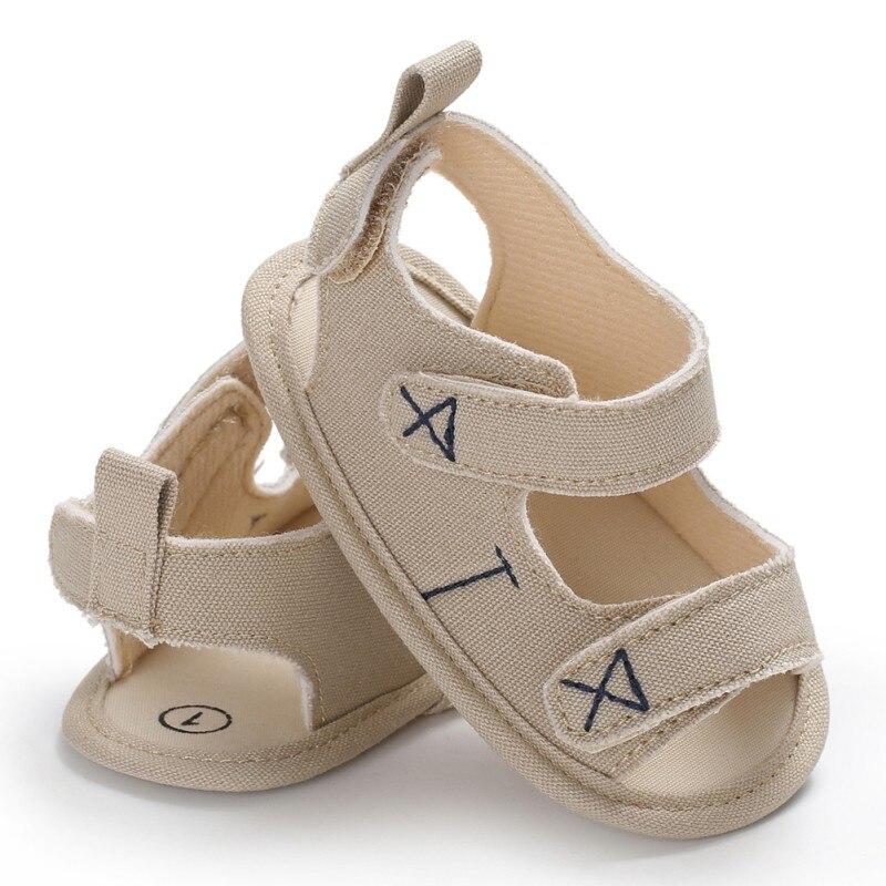 Infant Newborn First Walker Baby Boy Girl Soft Sole Canvas Pram Shoes 0-18 Months