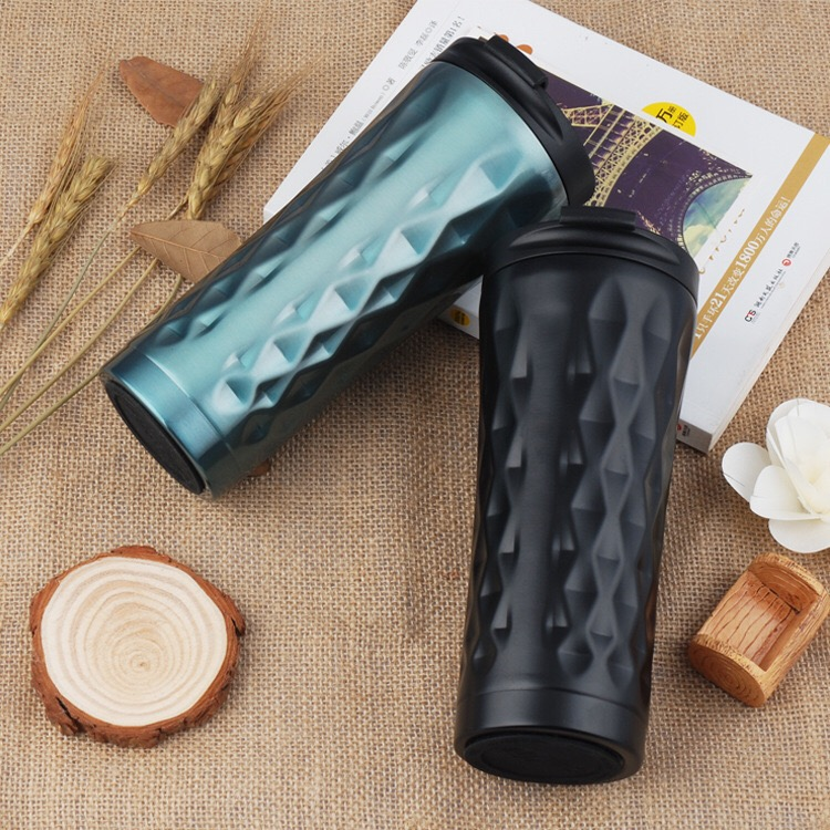 HTB1kte6zrGYBuNjy0Foq6AiBFXa2 500ml Double Stainless Steel Car Coffee Mug Thermos Cup Travel Tea Mug Thermal Water Bottle Thermocup Tumbler Insulated Bottle