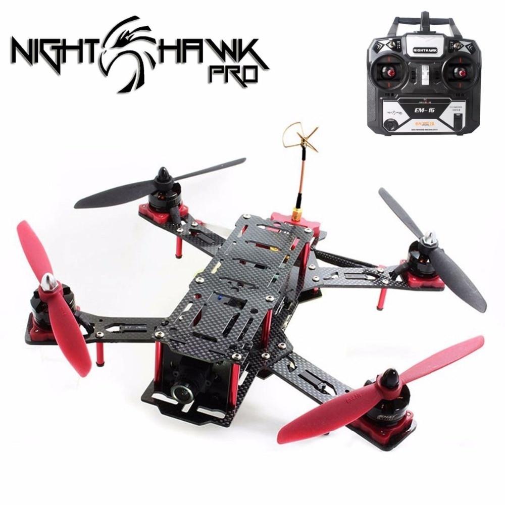 Emax Nighthawk Pro 280 FPV Mini RC Quadcopter Drone Frame with 700TVL Camera RTF