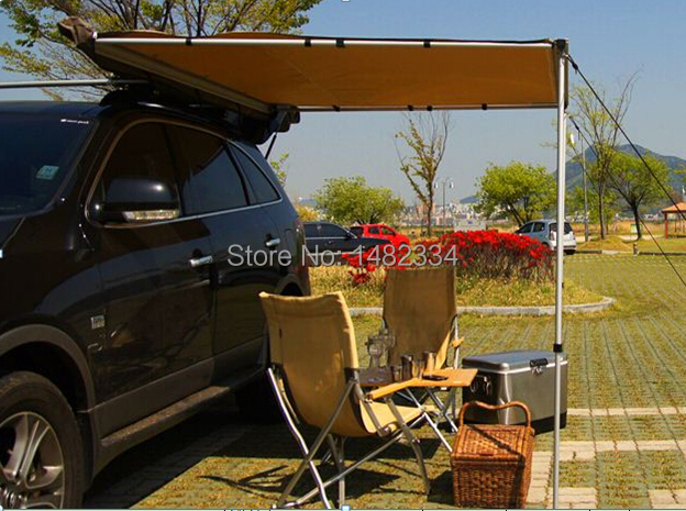 DANCHEL 4WD Roof Top Tent Awning 2015 Hot Selling Car Up Side