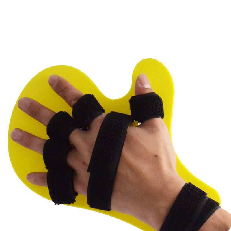 Hand Wrist Finger Flex Spasm Extension Board Splint Orthosis Therapy Stroke Hemiplegia Apoplexy Fingers Separate Plate