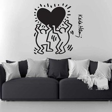Keith Haring Wall Decal Art Home Decor art Housing Warming Gift Christmas Decoration Chambre For Living Rooms B475