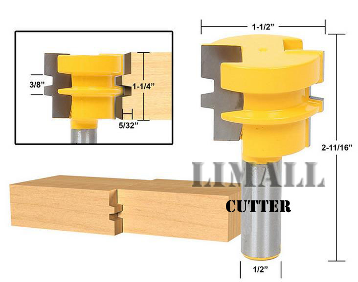 Helical -grade woodworking cutter knife tenon fit floor puzzle blade knife milling cutter