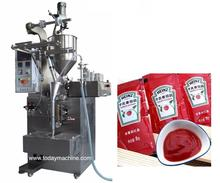 Vertical Automatic paste sachet packing machine/tomato sauce filling sealing sealing paste pads transparent china 85g abro masters