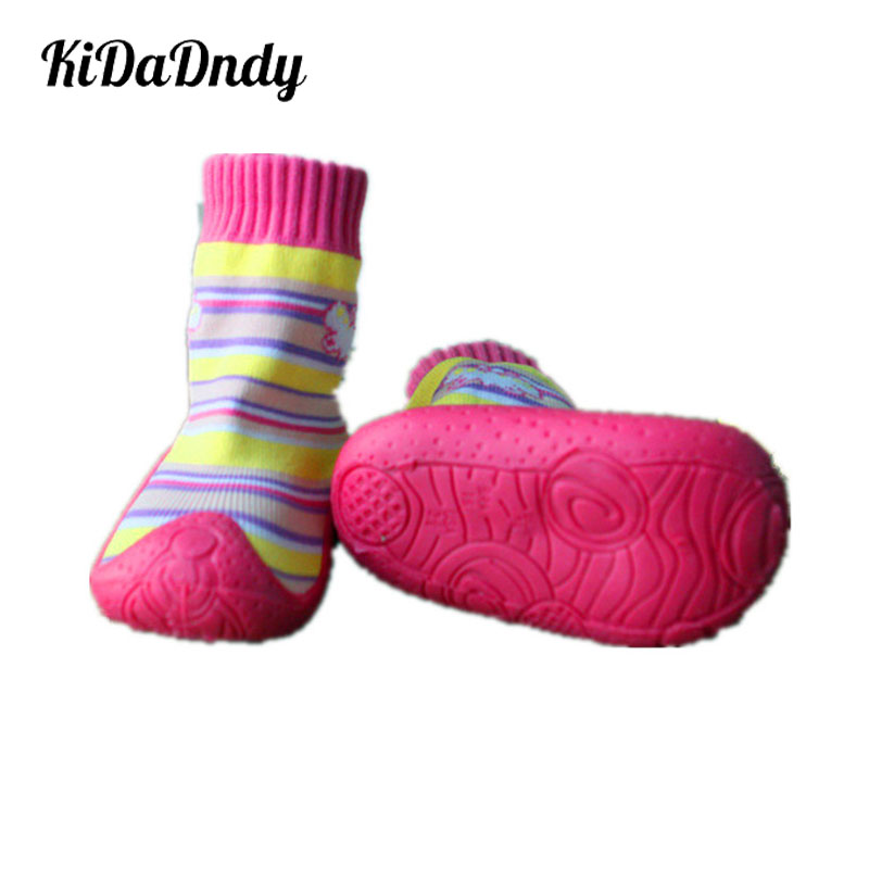 Baby Socks Newborn Anti Slip Baby Socks With Rubber Soles Children Toddler Shoes Socks Cotton  Ws93112XYLL