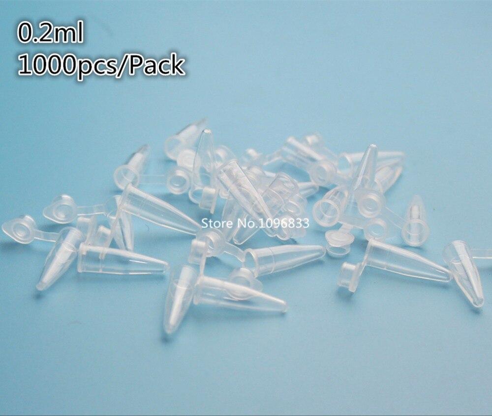 Pack of 1000pcs 0.2ml Transparent Plastic Centrifuge Test Tube Plastic Test Tube Bottle with Graduation Plastico Centrifugo Tubo global elementary coursebook with eworkbook pack