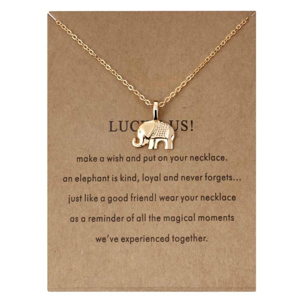 زهرة الحيوان هندسية قلادة المختنق القلائد للنساء فتاة قلادة الرغبات بطاقة المجوهرات بالجملة الذهب الفضة سلسلة قلادة