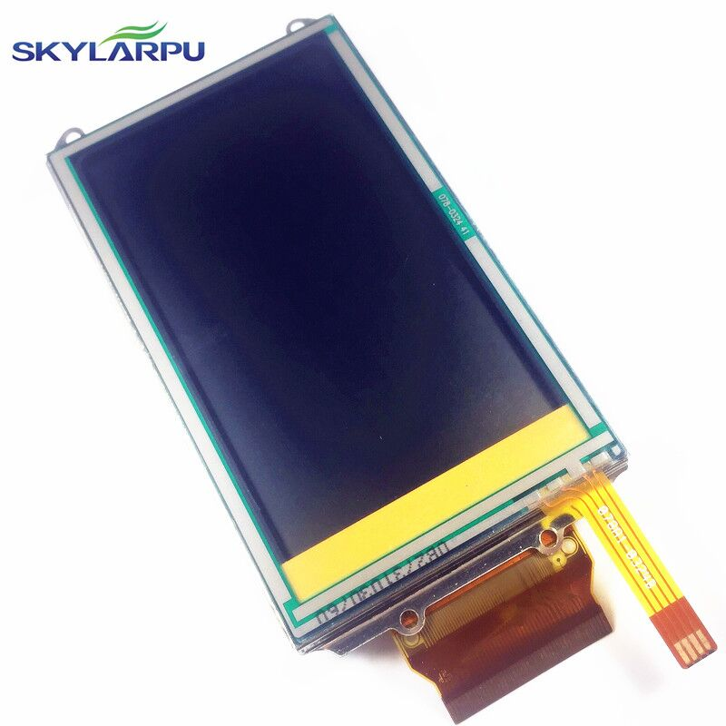 skylarpu 3 inch complete LCD For GARMIN COLORADO 400 400i 400c 400t Handheld GPS LCD display screen + touch screen digitizer handheld game 3 inch touch screen lcd displays 4 way cross keypad polar system