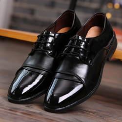 Роскошные брендовые оксфорды высокого качества, модельные туфли на шнуровке, Повседневная Деловая обувь, мужские деловые туфли на плоской