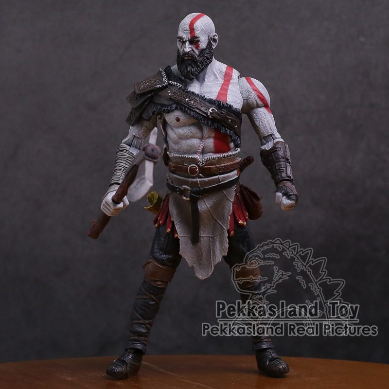 Image 2 - Original God of War 4 Kratos PVC Action Figure Collectible Model Toy 7inch 18cmAction & Toy Figures   -