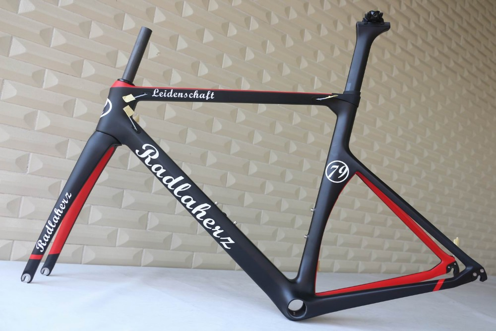 Custom painting OEM products  road carbon frame , TT-X1 frame , TanTan company.  factory sale