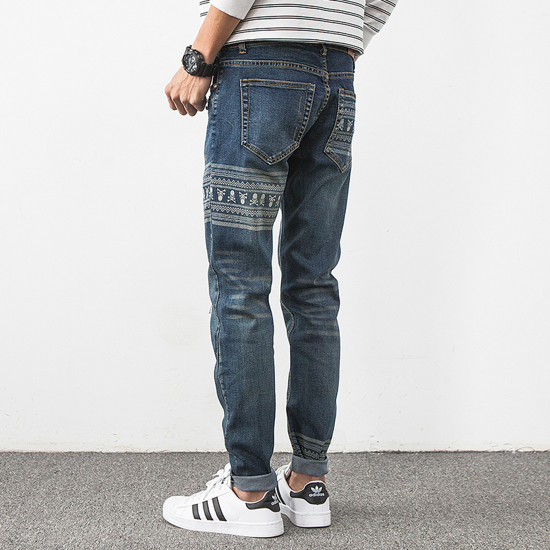 Ripped Knee Jeans Men - MX Jeans