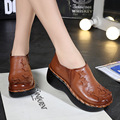 Cheap Winter Women Plaftform Ankle Boots Genuine Leather Casual Women Shoes