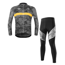 2019 Men Cycling Jersey Set Long Sleeve Winter Cycling Clothing Mens Bicycle Bike Jerseys MTB Clothes Ropa Ciclismo Breathable arsuxeo tight running clothes cycling long sleeve jersey set wicking ciclismo ropa mtb clothing fitness long jersey sets for men