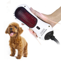 2 in 1 Multifunction Dog Hair Dryer Pet Grooming Machine Cat Massager Animal Care Anion Wind Comb