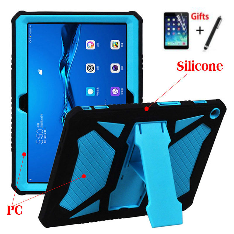 For Huawei Mediapad T3 10 Heavy Duty Armor Case PC And ...