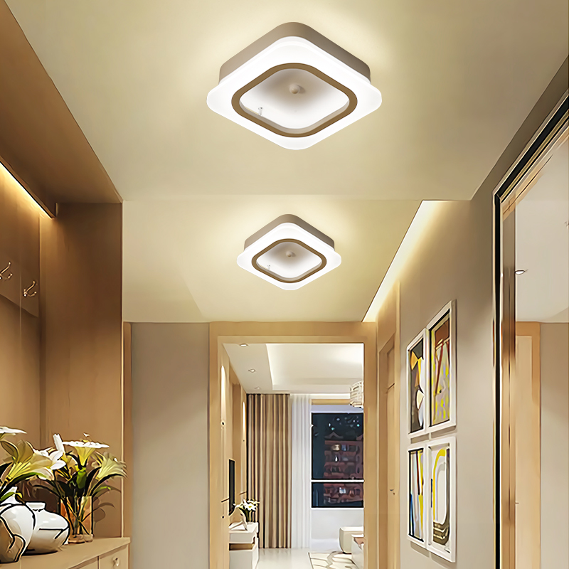 Minimalist ceiling Led Chandelier lights For Living room Bed Study room aisle corridor led lamp Home