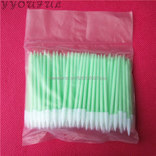 500pcs ESD Anti-static Mini foam swab for cleaning small slotted and grooved areas substitute ITW Texwipe TX751B foam swab