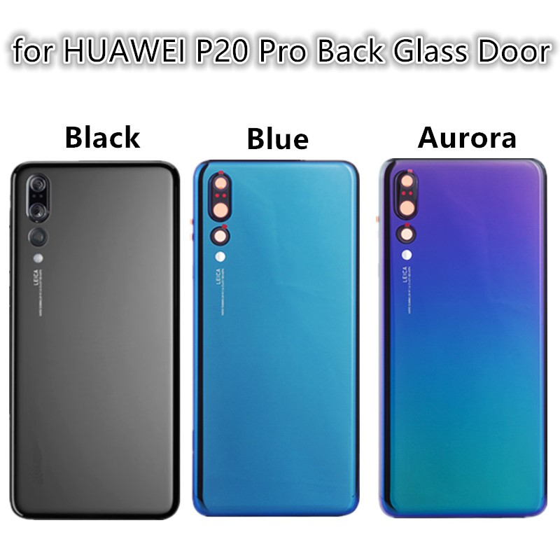 2019 Replacement Parts For HUAWEI P20 Pro Rear Battery Door