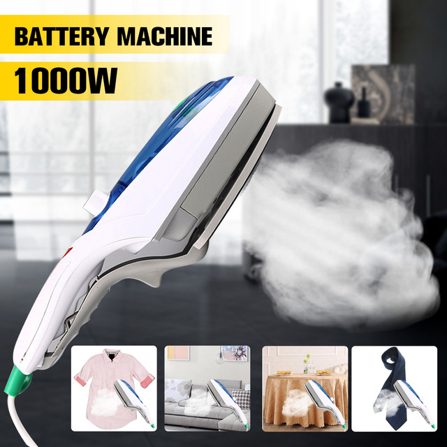 Household Electric Iron Mini Portable Steam Brush Foldable Electric Steam Iron 1000W Handheld Machine For Clothes