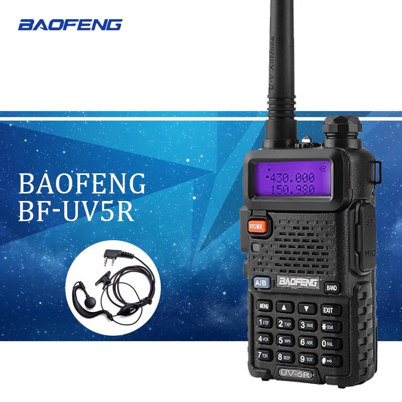 Baofeng uv5r Walkie Talkie uv-5r Dual Band Handheld 5 watt Zwei Weg Radio Pofung UV 5R Walkie-Talkie Handheld radio