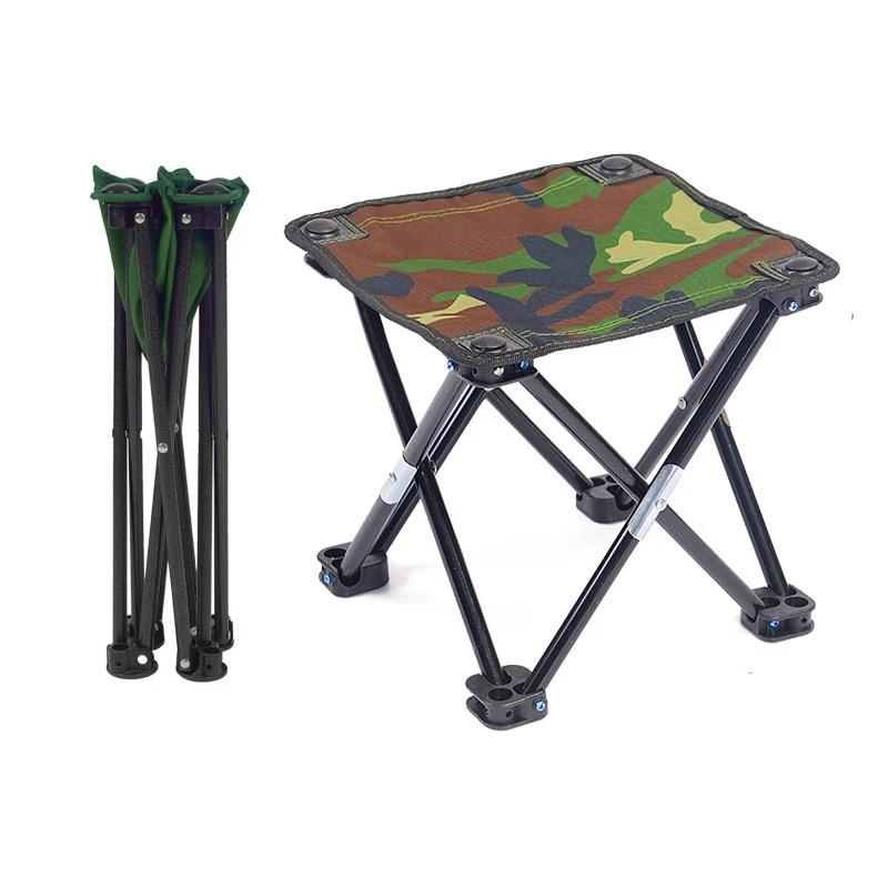 Portable Folding Chair Outdoor Fishing Camping Picnic BBQ Travel Beach Stool
