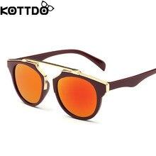 KOTTDO Fashion Boys Kids Sunglasses Brand Design Children Sun Glasses Baby Cute Sun Eyeglasses UV400 Oculos de grau 8colors