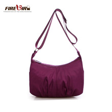 2018 hot sell high quality fashion women Waterproof Nylon Messenger Bags Female Crossbody Shoulder Ladies Handbags Z303