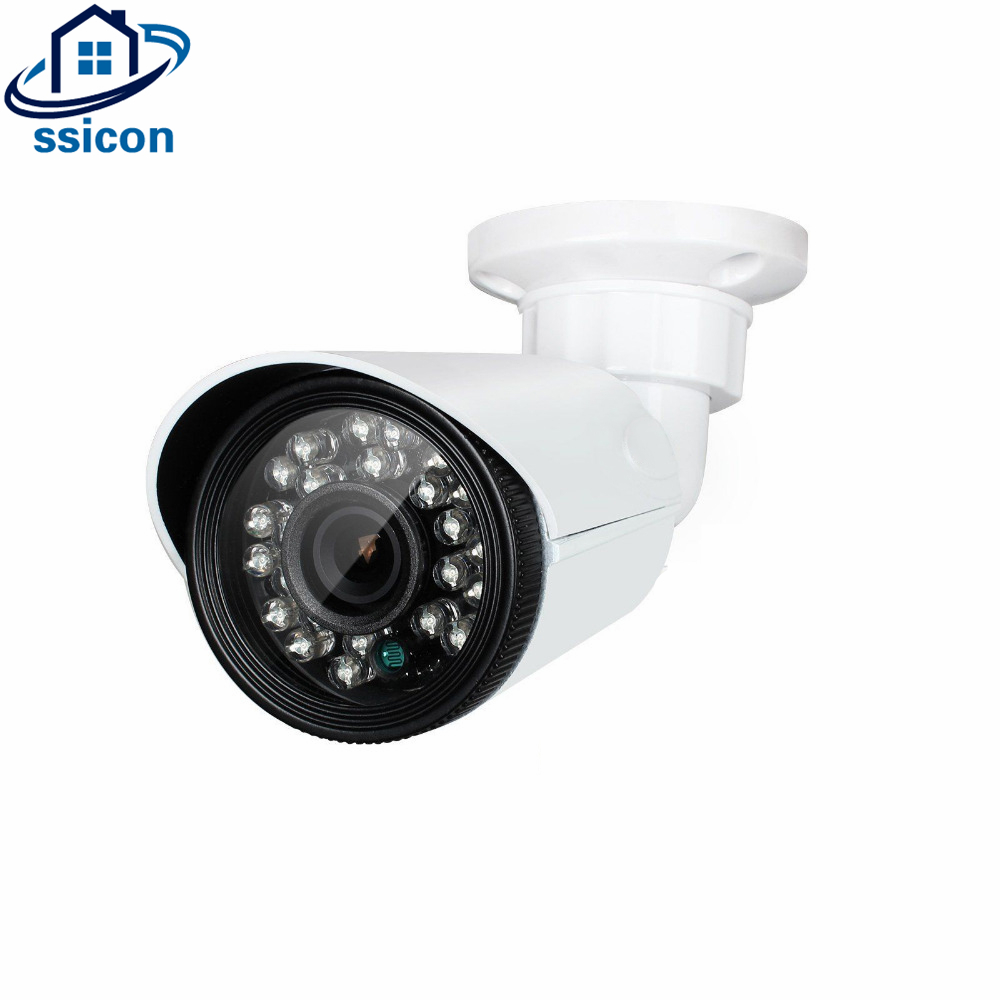 SSICON 2MP 4 IN 1 AHD/CVI/TVI/CVBS Camera CCTV Security Outdoor 24Pcs Leds IR Distance 20M hd ahd cvi tvi cvbs bullet camera with alarm speaker waterproof ip67 hd 1080p 4 in 1 security camera outdoor night vision ir 20m