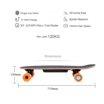 Ship from USA warehouse Four Wheel Electric Scooters Boost Electric Skateboard Wireless Remote Controller Scooter Plate Board 2