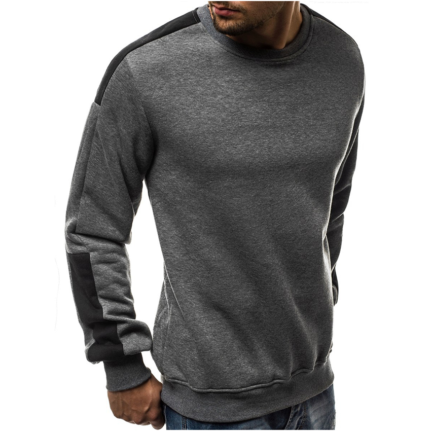 New Hoodie Men Casual Streetwear Splicing Pullover sweatshirts Men Hipster Warm Patchwork Hip Hop hoodie Men Clothing Hoodies