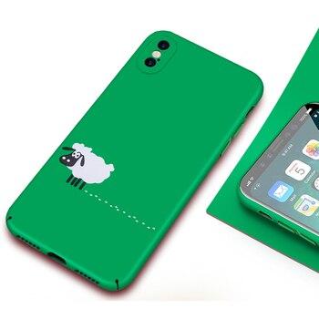 Green iPhone X Case