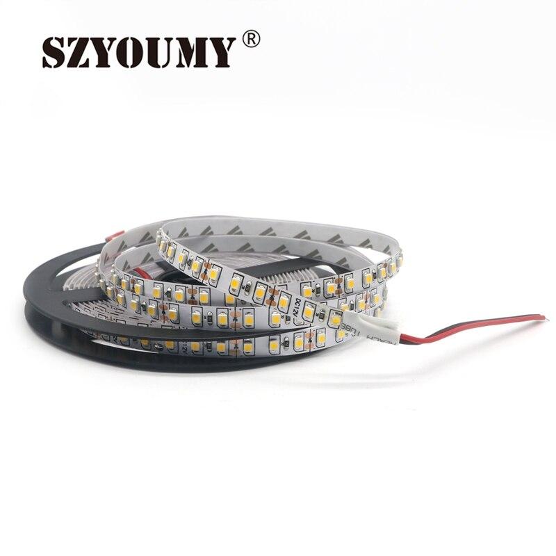 Lights & Lighting Led Lighting Lovely Szyoumy 12v 120led/m 10m/lot 3528 Led Strip Flexible Light Brightness Non-waterproof Low Power High Brightness 3528 120 Led