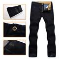 Jean hombres de multimillonario de alta costura italiana 2016 pure cotton popular comercio comodidad excelente tela bordada masculina envío libre