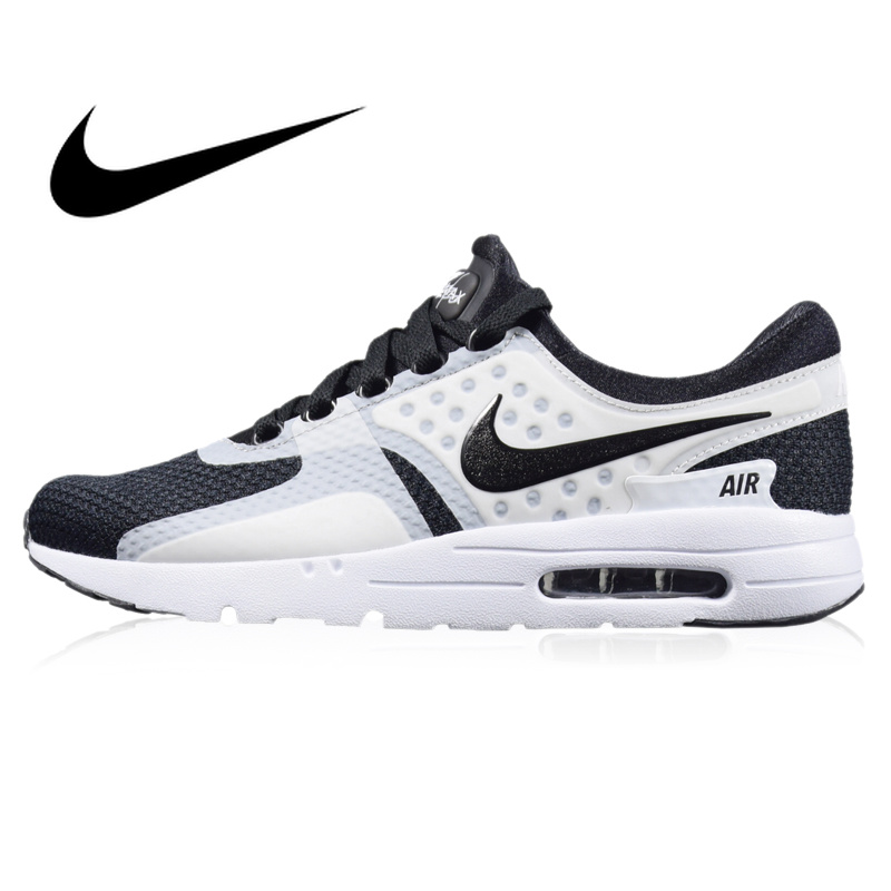 the best attitude a3d43 3a4d8 NIKE AIR MAX ZERO ESSENTIAL Men's Breathable Running Shoes Sport Outdoor  Sneakers Athletic Designer Footwear 2019 New 876070-101
