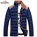 Speed Hiker Winter Jacket Men 2016 Cotton Down Casual Brand Clothing Stand Collar Male Patchwork Color 4XL K8003