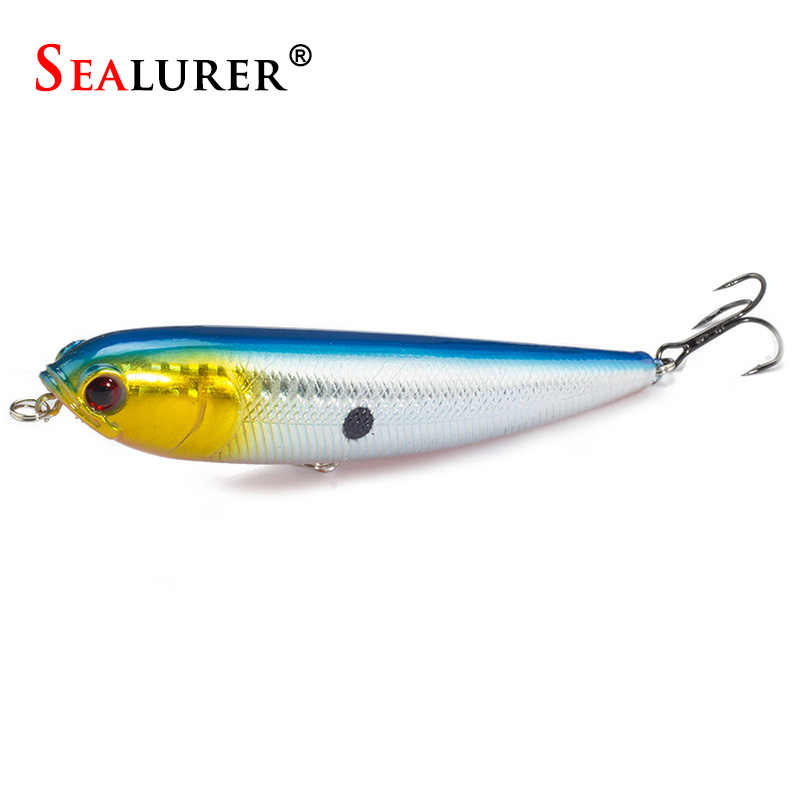 1PCS Topwater Pencil Lure Fishing Bait 115mm 20g Artificial Minnow Hard Lures Baits 12CM 22G