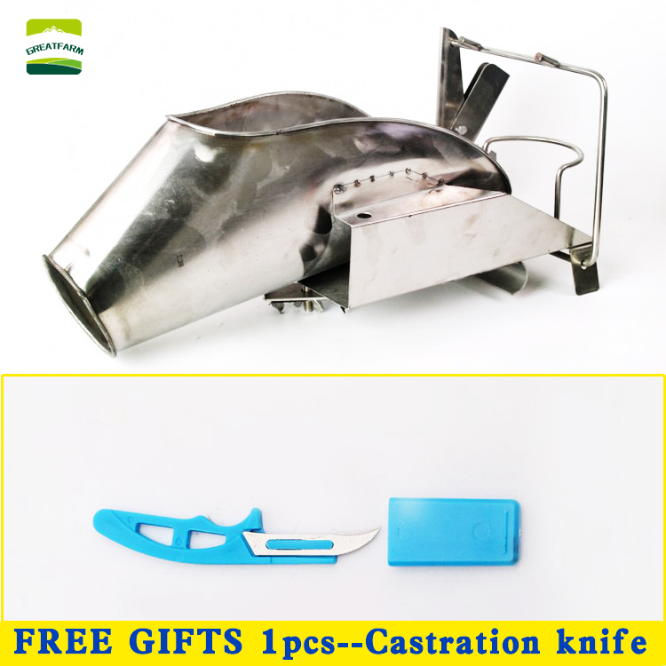 Pig castration rack tools stainless steel pig castration device piglet castrated platform pig equipment