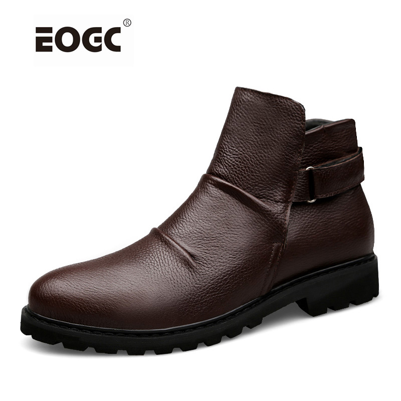 Super Warm Men Boots,Two Style High Quality Autumn And Winter Shoes,Handmade Retro Men Shoes Genuine Leather Snow Boots Shoes men boots 2015 men s winter warm snow boots genuine leather boots with plus velvet shoes high quality men outdoor work shoes