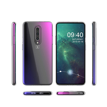 Ultra-thin transparent Clear TPU For Oneplus 7 Oneplus 7 pro Case Crystal Back Cover Silicon soft case