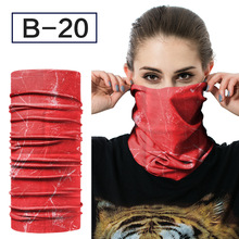 Фотография Riding outdoor variety magic headscarf multi function bicycle with wind proof and breathable dry movement