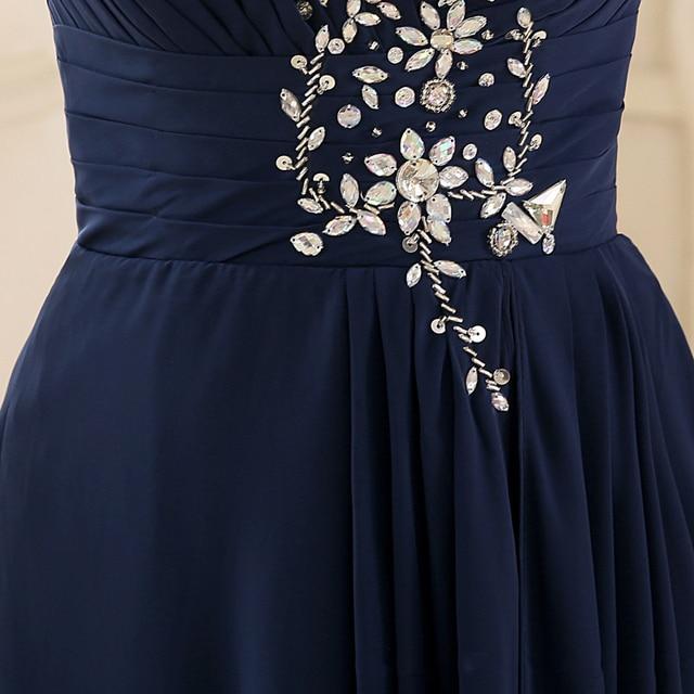 ALIMIDA Short Front Long Black Evening Dress 2017 New Elegant Evening Gowns Tailor-made Plus Size robe longue femme soiree Evening Dresses